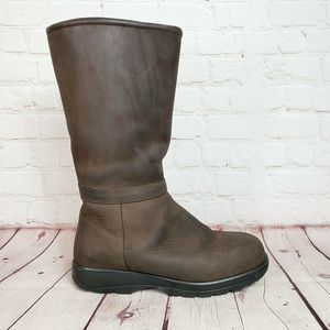 VTG LL Bean Shearling Insulated Pull On Boots